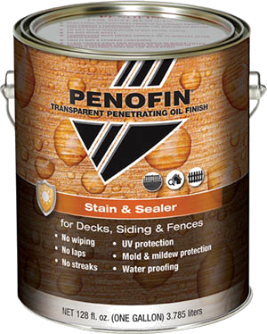 Penofin Transparent Penetrating Oil Finish Stain & Sealer 3.79L