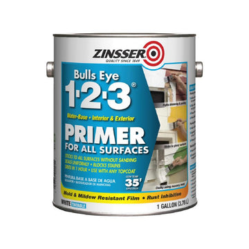ZINSSER Bulls Eye 1-2-3® Water-Base Primer