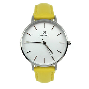 Women's new yellow watch