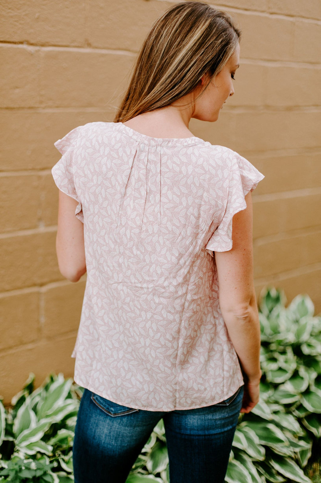 The Callie Printed Blouse