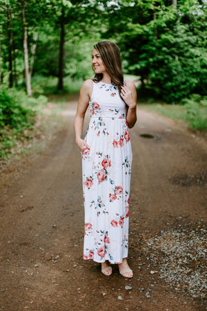 The Charlotte Floral Maxi
