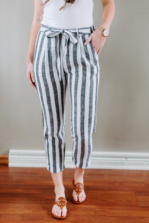 The Beachcomber Pants in Charcoal