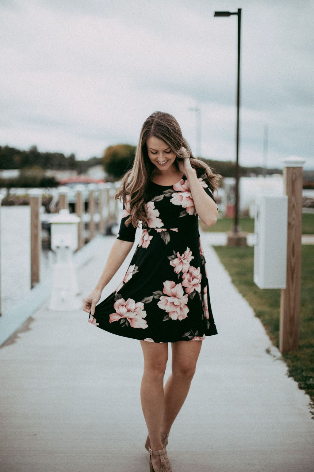 The Hope Floral Dress