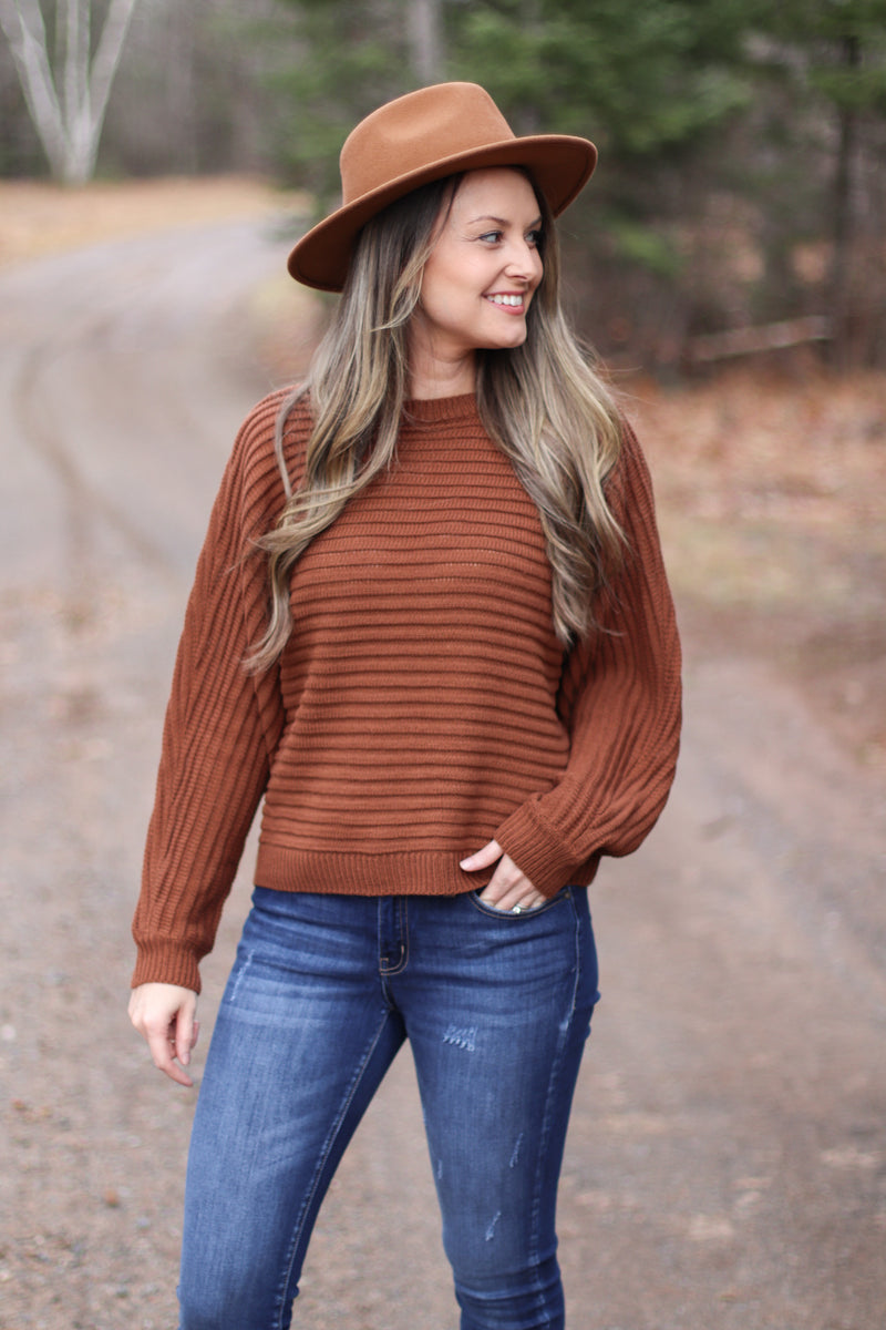 The Richmond Dolman Sweater