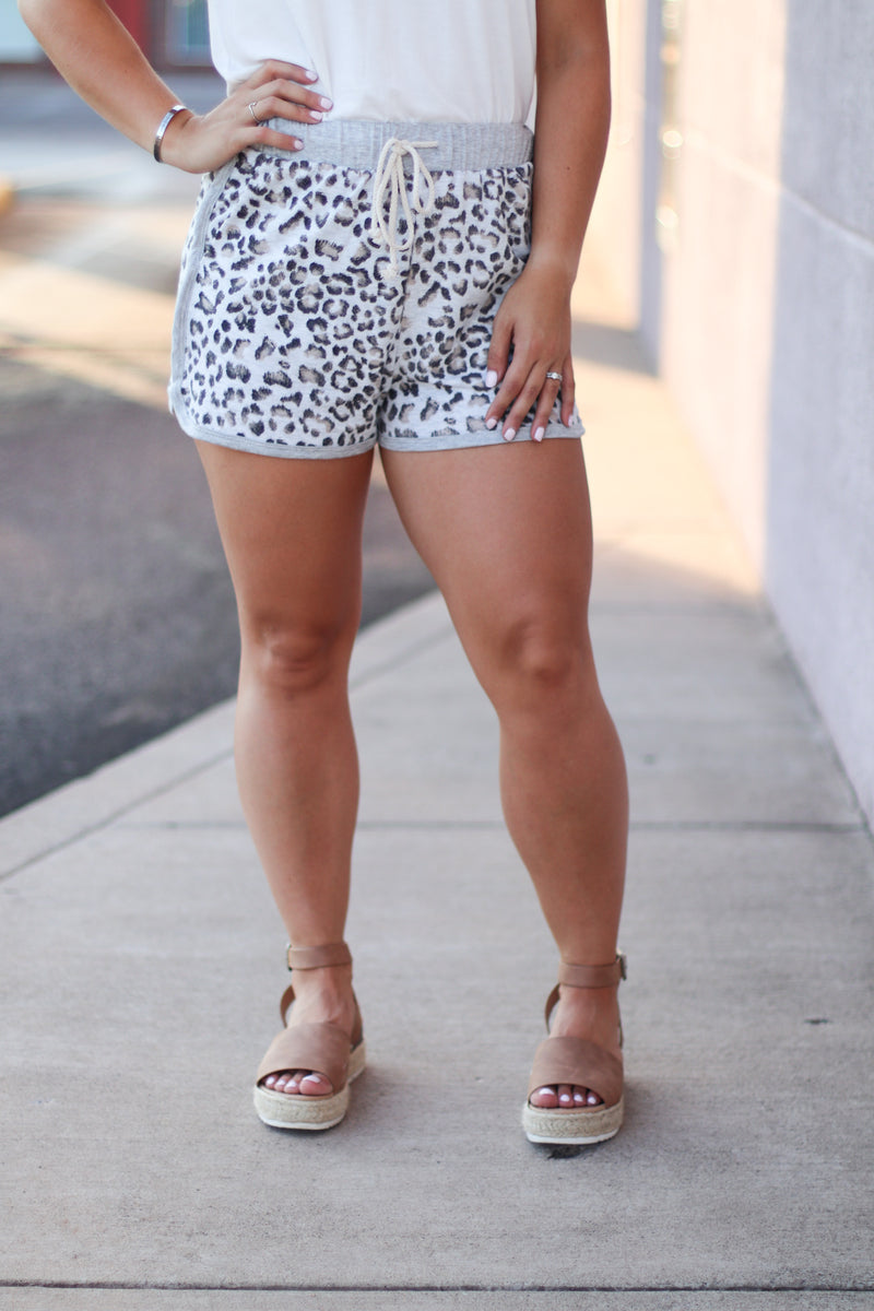 Leopard Lounge Shorts