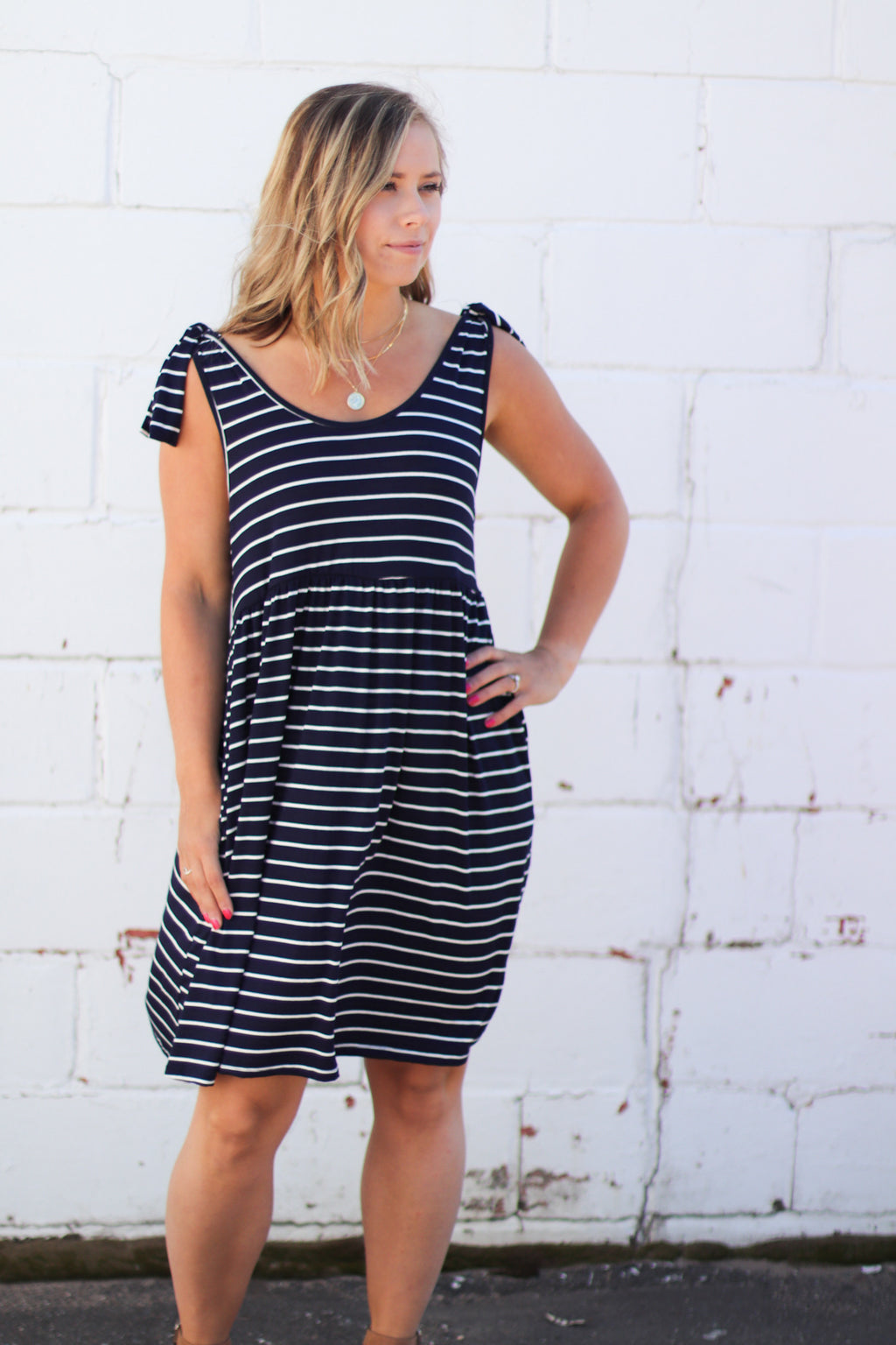 The Mila Striped Dress