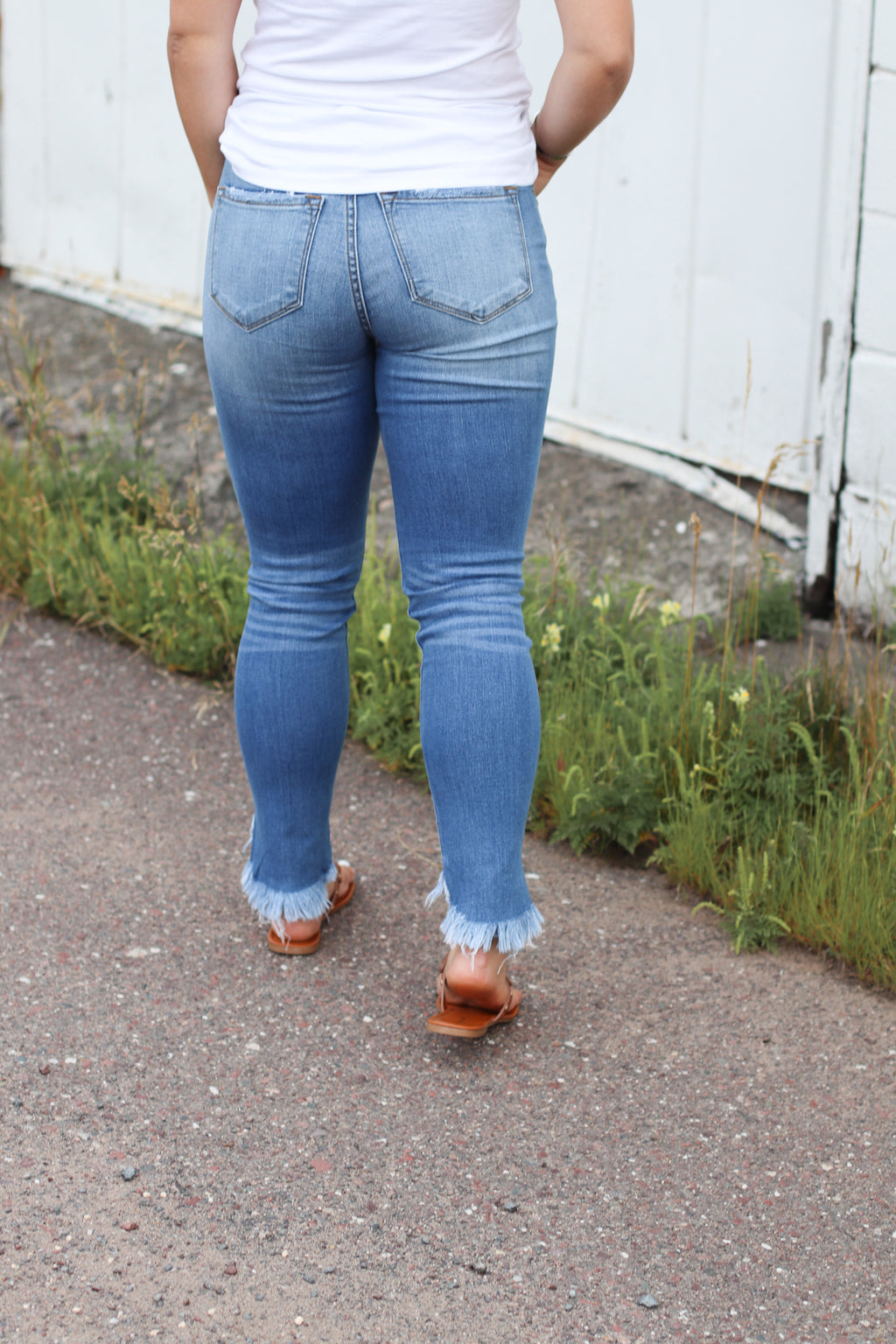 The Brooks High Rise Jeans