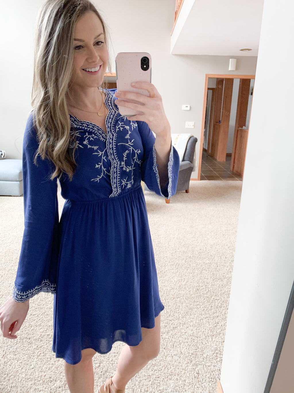 The Chloe Embroidered Dress