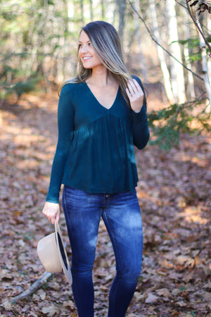 The Emma Babydoll Sweater