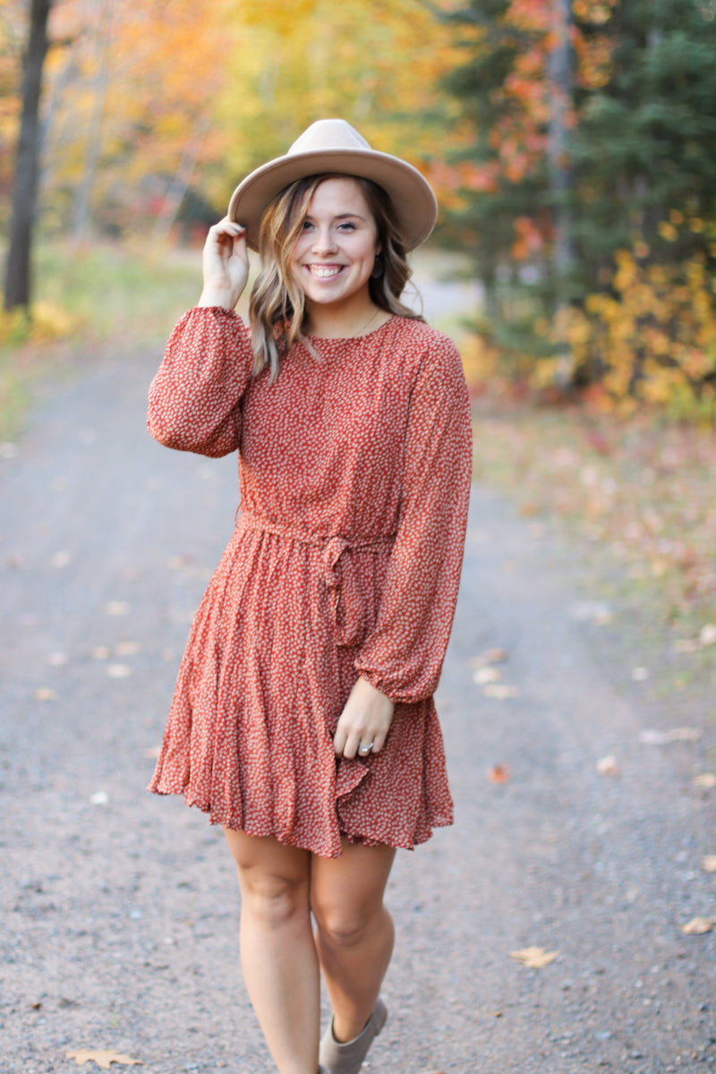 The October Dress in Rust