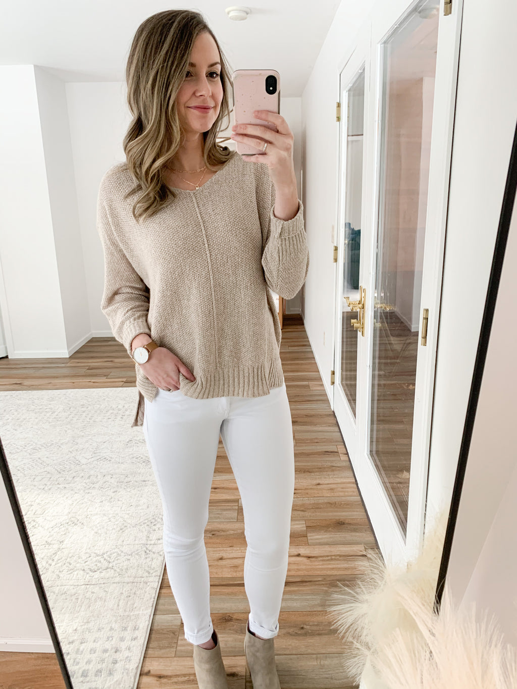 The Camilla Sweater in Taupe