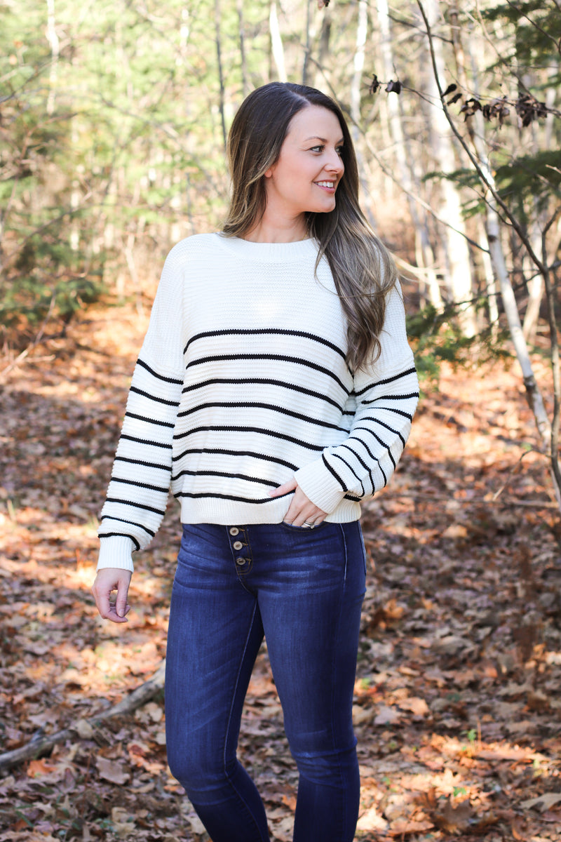 The Sara Striped Sweater