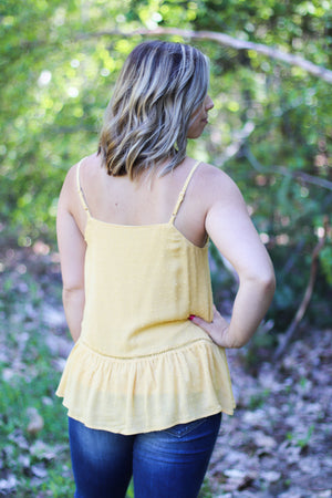 The Cabo Tank in Marigold