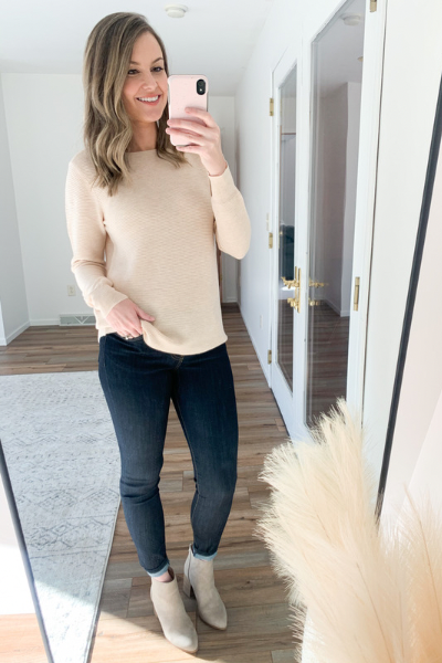 The Hannah Ribbed Sweater