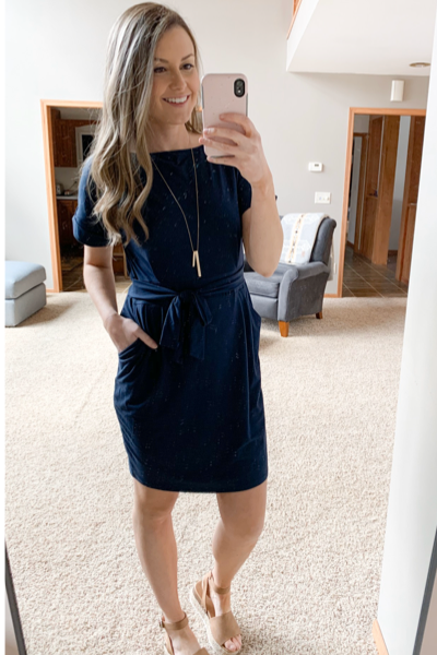 Most Wanted Dress in Navy