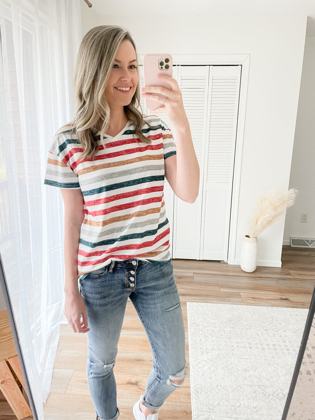 Sunset Stripe Tee