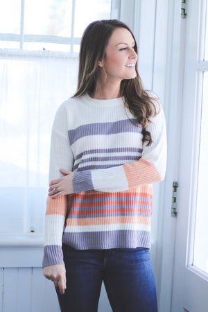 The Naples Striped Sweater