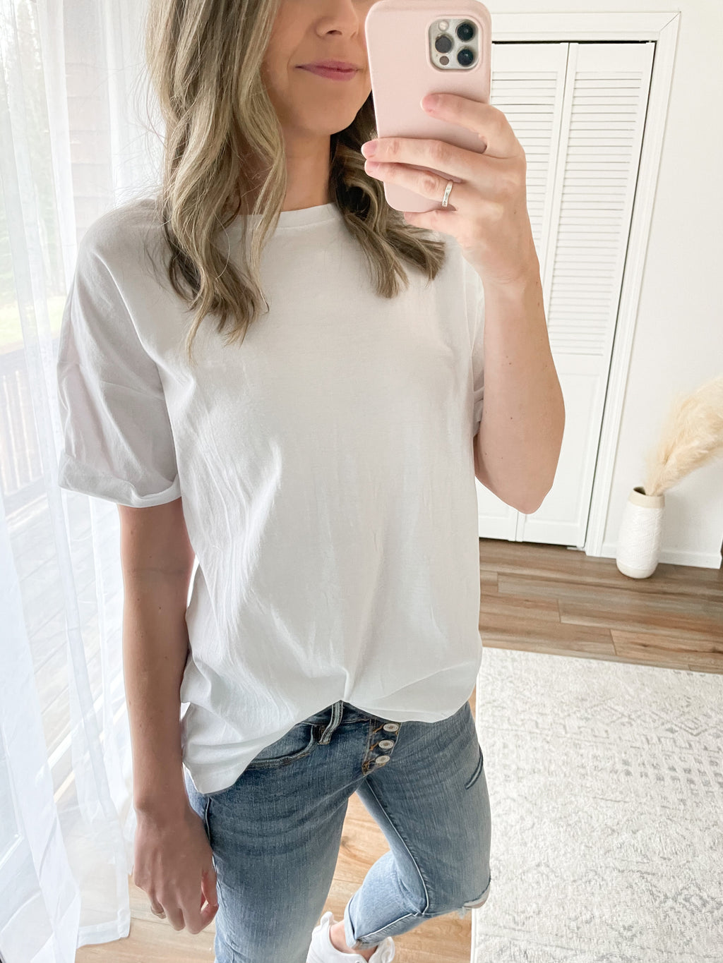 Boyfriend Tee in White
