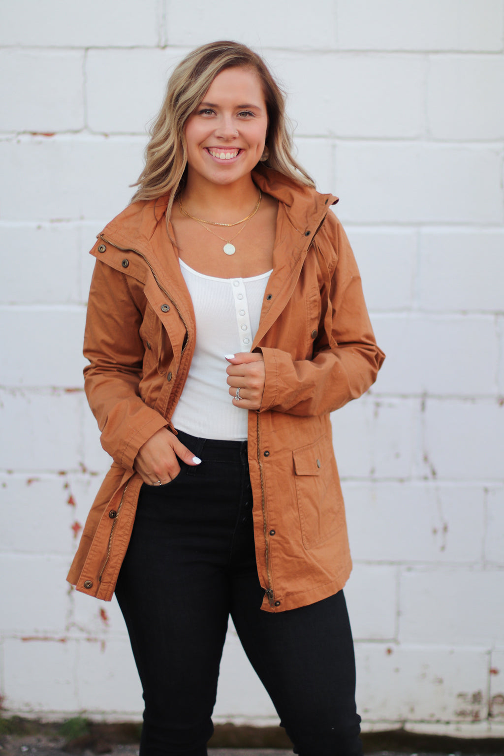 Fall Favorite Jacket in Camel
