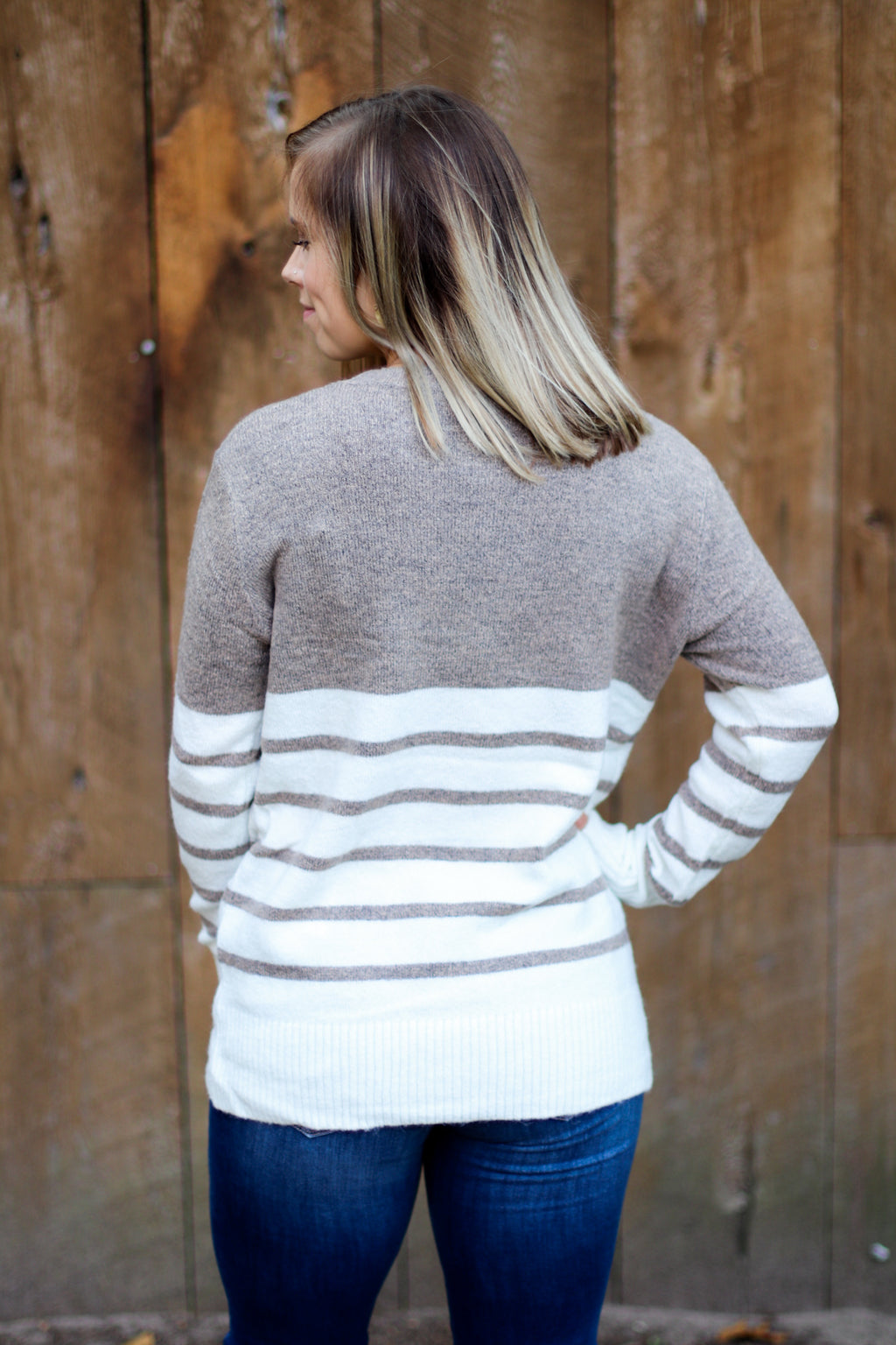 Coffee Date Sweater in Latte