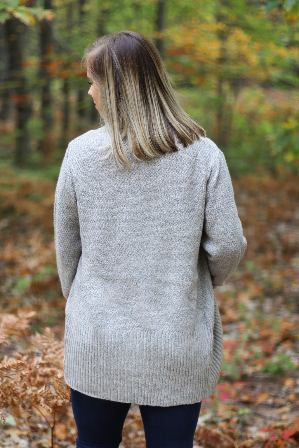 The Brockway Cardigan in Taupe