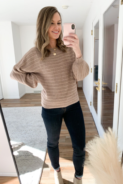 The Andrea Textured Sweater