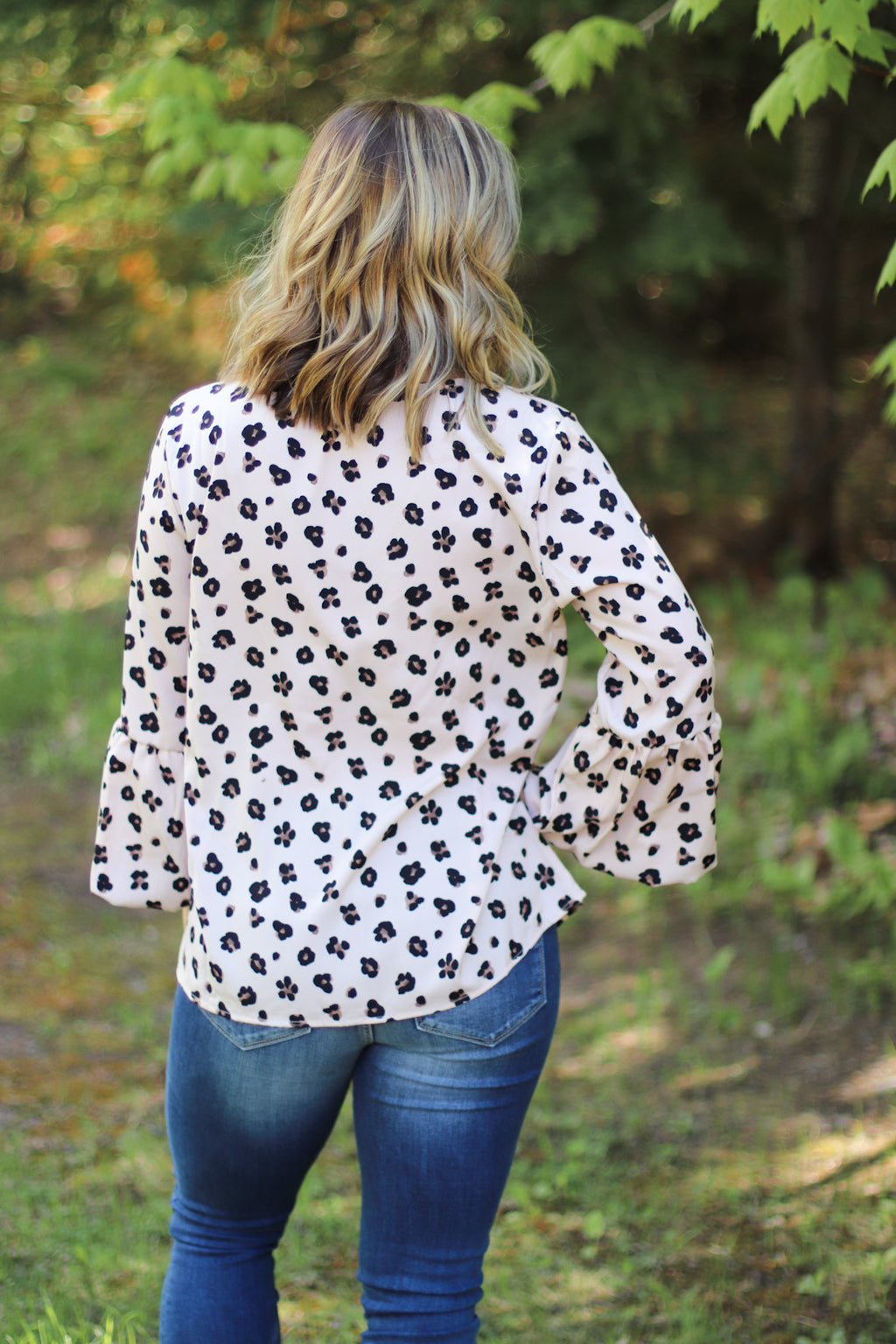 The Lulu Leopard Blouse