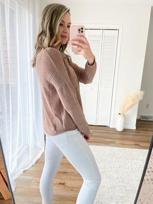 Summer Nights Sweater in Cocoa
