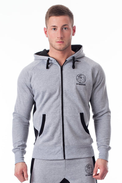 Men GYMBROS Xclusive Gym Zip-Hoodie