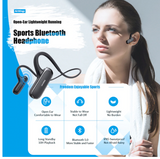 Running Cycling  Bluetooth with Microphone Sports Headset Earphone Wireless Headphones