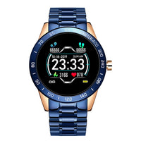 Men LED Screen Heart Rate Monitor Blood Pressure Fitness Smartwatch+Box