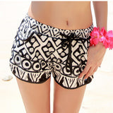 Couple Beach Surf Shorts Quick Dry Print  Swimming Wear Bikini