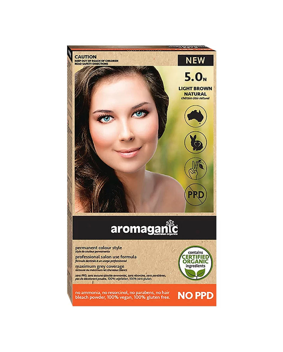 Aromaganic haircolour 5.0N Light Brown