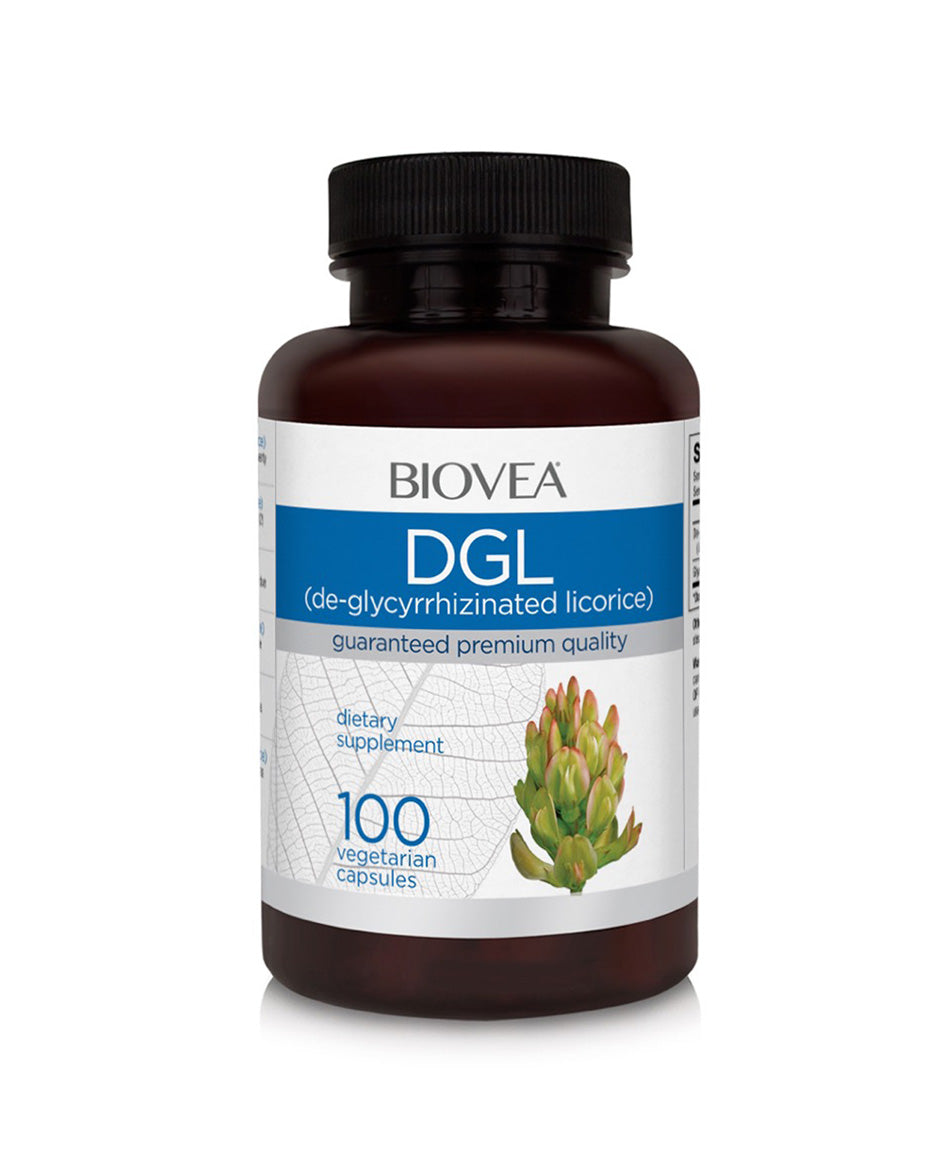 DGL de-glycyrrhizinated licorice 100 vegetarian capsules