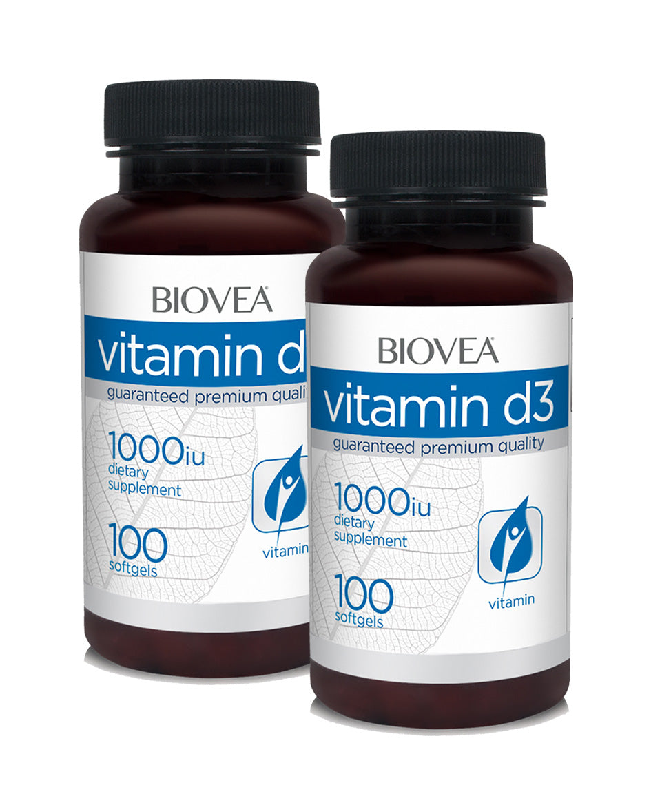 Vitamin D 1000IU 100 softgels SALE! buy 1 get 1 FREE!
