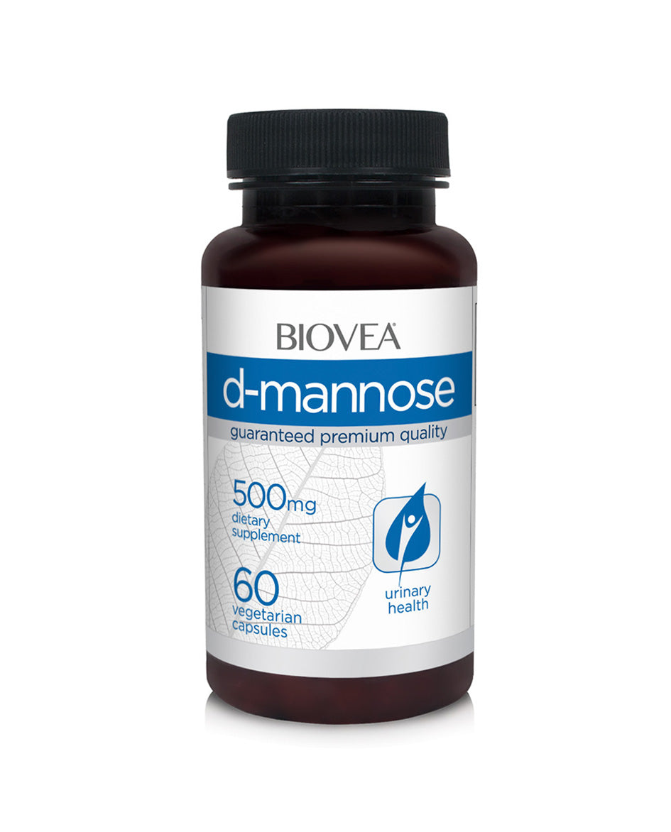 D-mannose 500mg 60 capsules