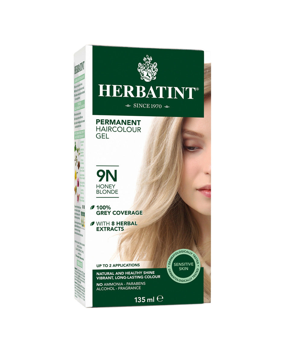 Herbatint permanent haircolor gel 9N Honey Blonde 135ml