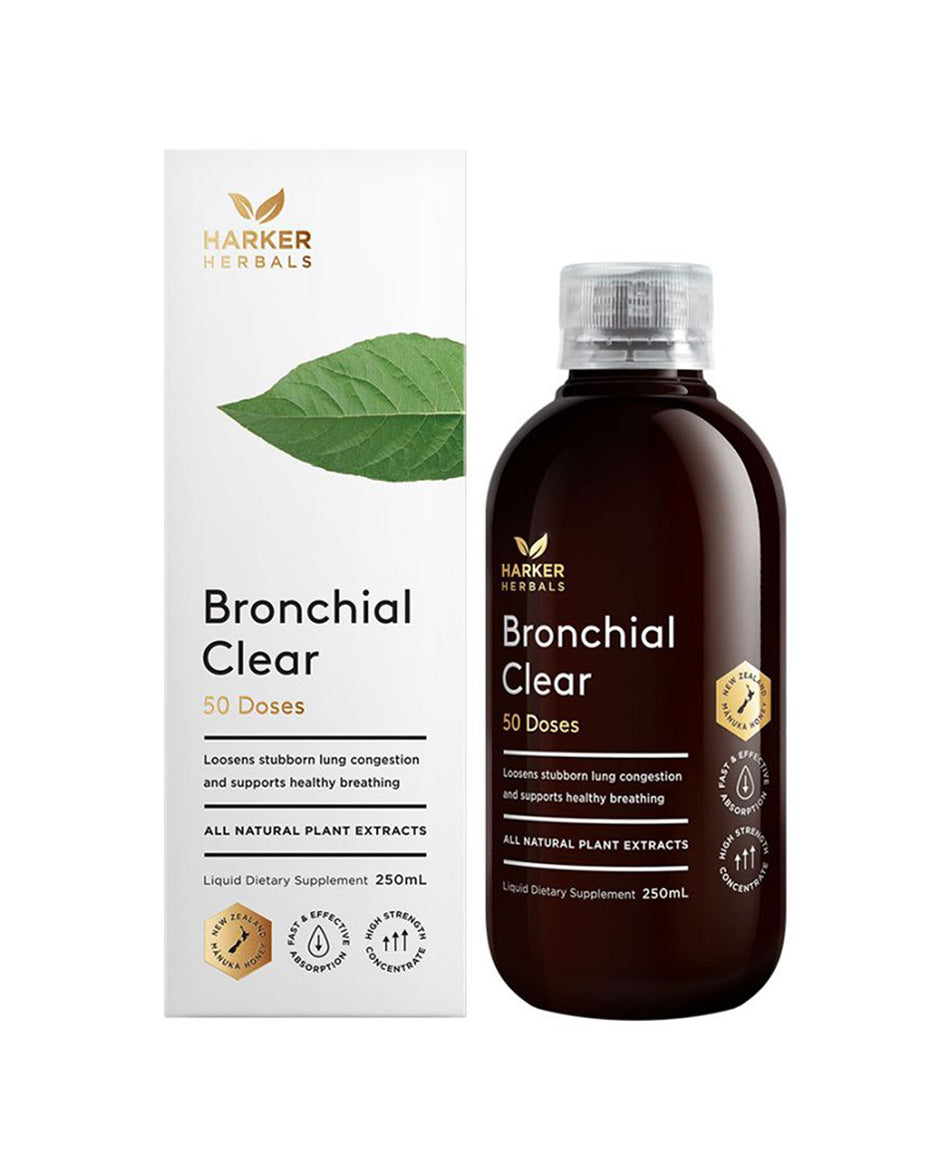 Harker Herbals Bronchial Clear 250ml