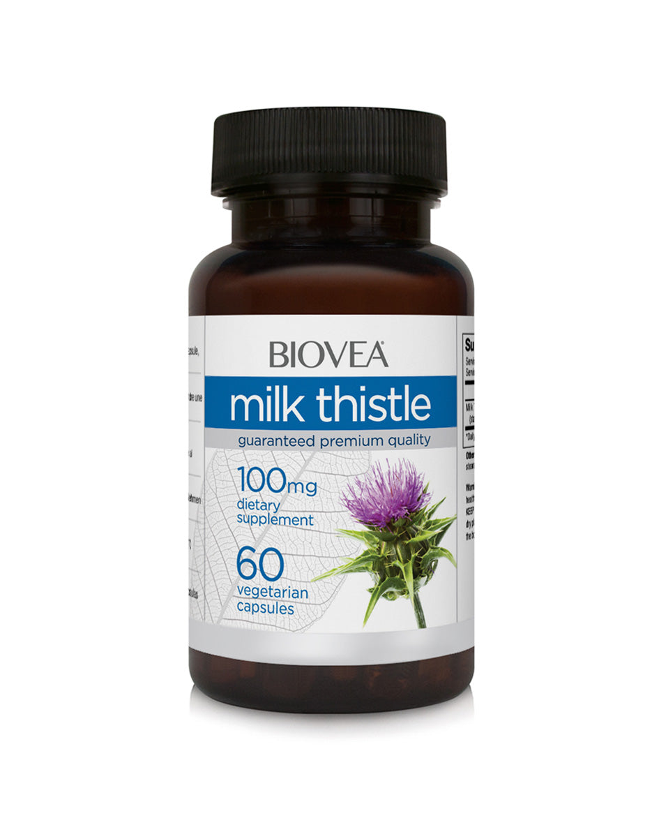 Milk thistle 100mg 60 capsules