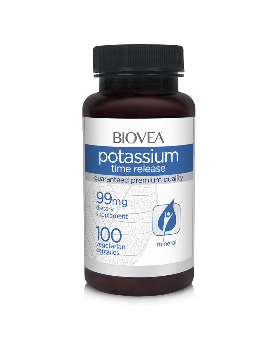 Potassium time release 99mg 100 capsules