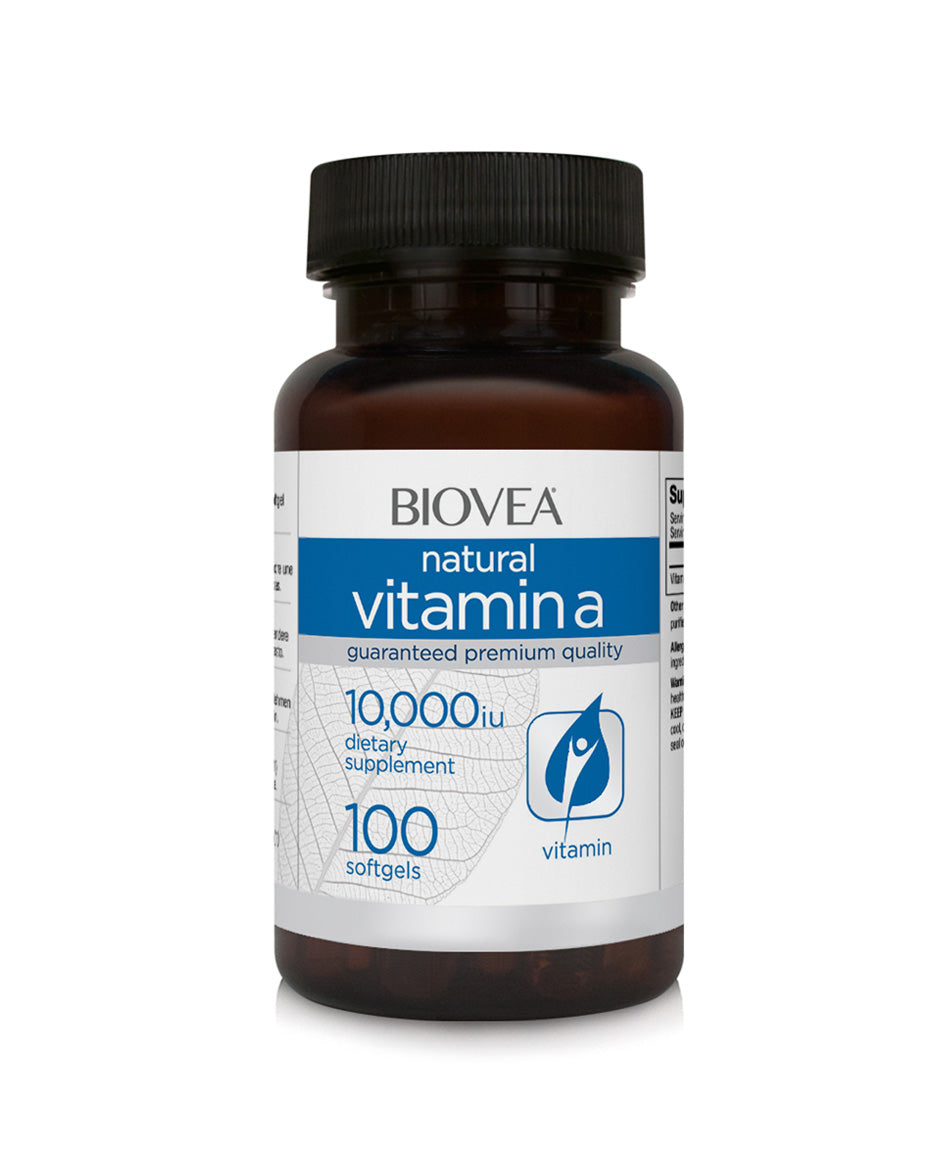Vitamin A 10000 IU 100 softgels