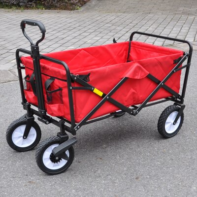 Collapsible Grocery Shopping Wagon | Time & Money Saver | Portable