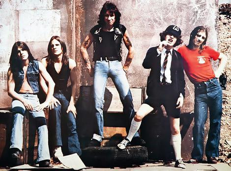 AC/DC : 'A LONG WAY TO THE TOP' - THE BON SCOTT YEARS ANTHOLOGY