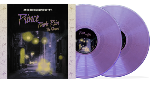 Prince - Purple Rain - The Concert: 10-Inch Double Album on Purple Vinyl in Gatefold Sleeve.....Limited to only 2000 copies!!!