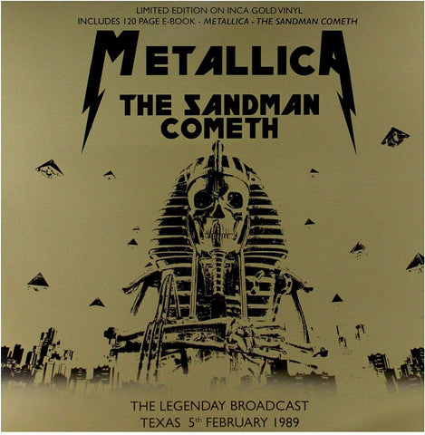 Metallica - The Sandman Cometh: Limited Edition on Gold Vinyl