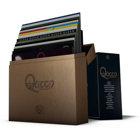 Queen - the Complete Studio Collection LP Boxset : Coloured Vinyl With Handcrafted Book. Strictly Limited Edition Now Back in Stock