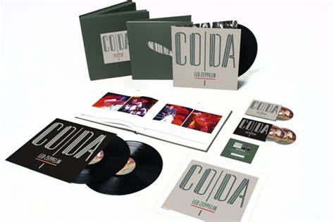 Led Zeppelin - Coda : Super -Deluxe Triple Album Edition. Back in Stock now. A must have for Zeppelin collectors