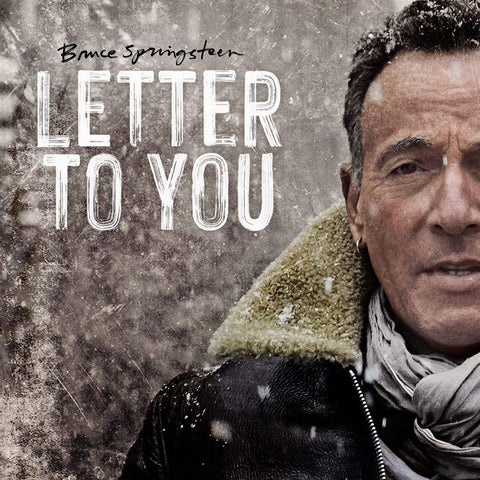 Springsteen & The E Street Band  – Letter To You: Double Album  on 180g Grey Vinyl... Vintage Springsteen!