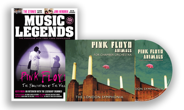 PINK FLOYD'S ANIMALS - FOR CHAMBER ORCHESTRA - BOOKZINE & CD SPECIAL LIMITED EDITION BUNDLE