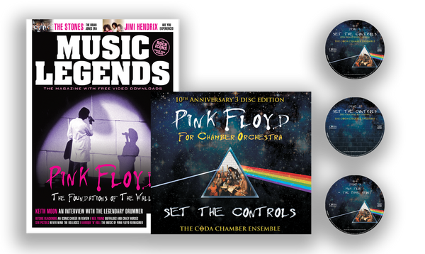 Pink Floyd - Set the Controls for Orchestra - Bookzine & 3 CD Set Special Limited Edition Bundle